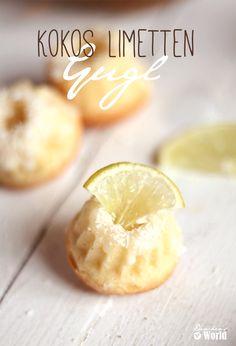 Gugelhupf mit Kokosflocken und Limetten