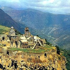 Armenia! My grandfather is from there. His father, Hagup Berberian escaped the Armenian genocide of WWI and came to America.