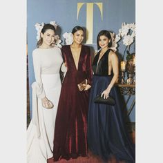 """4,459 Likes, 4 Comments - Cristalle Pitt (@cristallebelo) on Instagram: """"With Belo Beauties @isabelledaza and @annecurtissmith in last Saturday's Tatler Ball!…"""""""