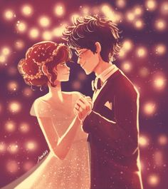 """""""Lily and James Potter.""""We'll find a way to offer up the night tonightThe … """"Lily y James Potter. Lily Potter, James Potter, Harry Potter Fan Art, Harry Potter World, Blaise Harry Potter, Fans D'harry Potter, Mundo Harry Potter, Harry Potter Ships, Harry Potter Universal"""