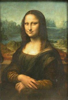 La Gioconda, Leonardo da Vinci, Museo del Louvre, 1503