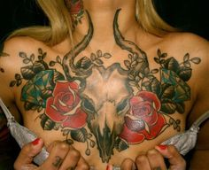 12 Unique Chest Tattoo Designs for Women