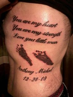 25 Best Father Tattoo Quotes Images Dad Tattoos Father Tattoos
