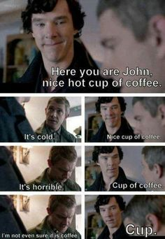 Sherlock / Cabin Pressure -watching this episode now. :-)