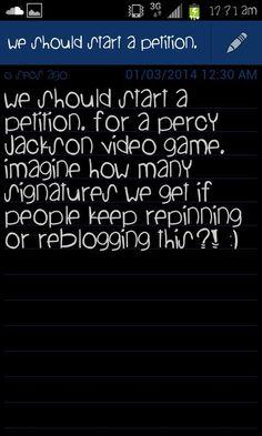 PERCY JACKSON VIDEO GAME