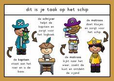 themahoek piraten Comics, School, Boys, Teaching Ideas, Fictional Characters, Pirates, Baby Boys, Cartoons, Senior Boys