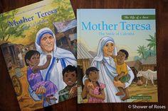 Shower of Roses: Two Brand New Mother Teresa Picture Books {Sponsor...