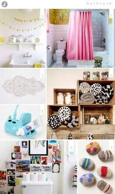 DIY Bathroom Ideas to make your bathroom feel more homely / modern / indie. #diy #BathroomDIY