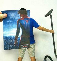 Filmposter gekonnt in Szene gesetzt