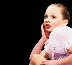 "… And for the infamous ""Maddie face"" she pulls while dancing. 