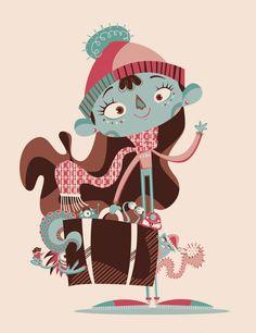 FÉRIAS MONSTRUOSAS!   Illustrator: Claudia Souza
