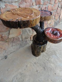 Log Furniture, Handmade Furniture, Mass Production, Reclaimed Timber, Wood Carving, Rustic, Canning, Steel, Table