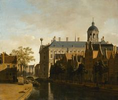 63 Dutch Masters return home to Holland for an exhibition at the Hermitage Amsterdam until 27 May 2018 - Alain. Baroque Painting, Baroque Art, City Painting, Renoir, Rembrandt, Amsterdam Art, Hermitage Museum, Dutch Golden Age, Exhibition