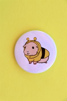 Cute bumblebee guinea pig pin Cute Guinea Pigs, Brighten Your Day, First Love, Things To Come, Gifts, Diy, Stuff To Buy, Presents, Bricolage
