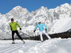 Langlauf in Ramsau am Dachstein Steiermark Österreich