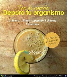 Hábitos Health Coaching | JUGO DE VEGETALES PARA DEPURAR EL ORGANISMO