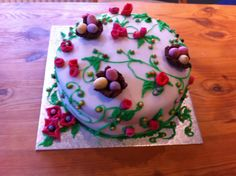 Spring cake for a local community party
