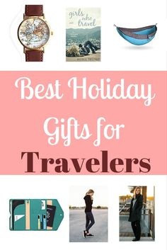 Looking for gift ideas for the traveler in your life? Check out this list of the best holiday gifts for travelers!