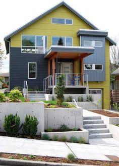 No trim on windows  Phinney Ridge photos - contemporary - exterior - seattle - Portal Design Inc