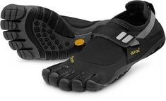 Vibram FiveFingers... ugliest shoes ever, but I can run now. so. there.