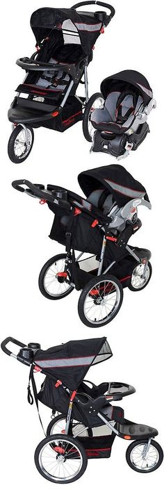 baby and kid stuff: Baby Trend Expedition Jogger Travel System Millennium 3In1 Stroller Car Seat New BUY IT NOW ONLY: $163.77