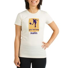 Cool Sport Tennis Shirt, all editable: change text, tennis icon to your own! #tee #sport #personalized