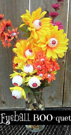 Halloween Eyeball Bouquet DIY