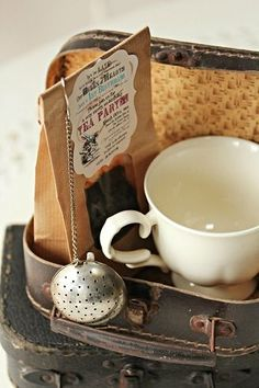 a sweet vintage gift for that special tea lover in your life