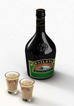 Baileys Shots Bailey Shots, Baileys Irish Cream, Bottle, Flask, Jars