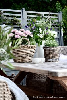 Dreams Come True: Terrasse und die am meisten gestellte Frage. Dreams Come True: Terrace and the most asked question. Garden Art, Garden Tools, Small Front Yards, Dreams Come True, Landscaping Tools, Easy Care Plants, Pot Jardin, Pot Plante, Most Beautiful Gardens