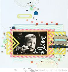 Studio Calico CHA challenges #scrapbook