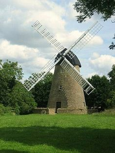New Bradwell Mill, Milton Keynes. A tower Mill. Saved from Wikipedia.
