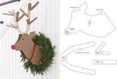 DIY reindeer for ChristmasDIY RENOS FOR # CHRISTMAS creative DIY Christmas ideas that anyone can makeDIY Scented Christmas Gnome Free Sewing Pattern & Christmas props and sets for the best souvenir photosChristmas decoration Office Christmas, Cheap Christmas, Noel Christmas, Christmas Crafts For Kids, Holiday Crafts, Christmas Wreaths, Xmas, Christmas Ornaments, Diy Christmas Decorations Easy