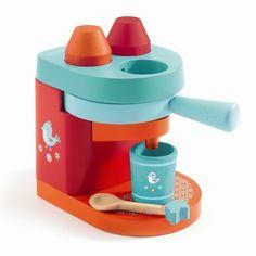 Djeco, nespresso kaffemaskine