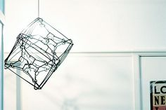 Make an Amazing Cube Lamp – with 24 Humble Clothes Hangers