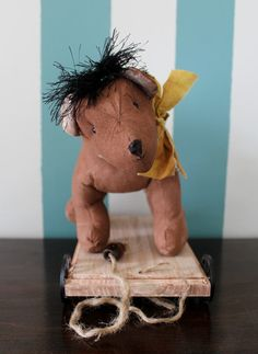 Vintage Reproduction Children's Pull Toy by PenelopesEmporium, $29.00