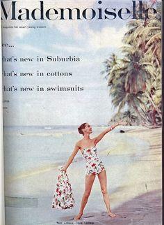 Mademoiselle, May 1956