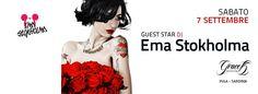SPECIAL GUEST DJ EMA STOKHOLMA – GRACE K – PULA – SABATO 7 SETTEMBRE 2013