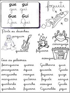Cantinho da educação: Sílabas Complexas (Fichas de Leitura )
