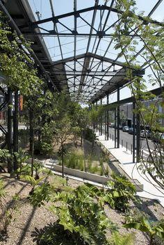 Jardin des Fonderies | Nantes Beautifull postindustrial design