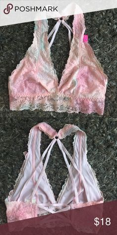 VS PINK BRALETTE New with tags. Size small. No padding. PINK Victoria's Secret Intimates & Sleepwear