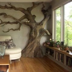 Nature inside.  Love it!