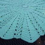 Lacy Round Ripple Blanket - Free Pattern