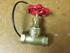 DIY write up for pipe valve switch build.