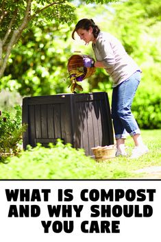 What is compost? Ever ask yourself what is compost, anyways? Well, compost is basically organic materials that have decayed and have been broken down...  #compost #Garden #nutrients #plants #soil