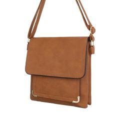 11,99 € - Kleine Damen Tasche Camel