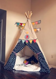 A collection of diy tee pees