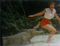 Juan Downey,  The Laughing Alligator  (27 min. black and white and color, sound),1979. Video still. Courtesy of Electronic Arts Intermix (EAI), New York.