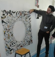 The Beret Project: Peter Madden's Art - explanation of collage pieces