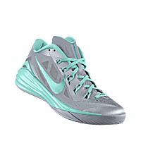 new products 92a0e f3dbd I designed the wolf grey Nike Hyperdunk 2014 Low iD men s basketball shoe  with hyper turq trim.